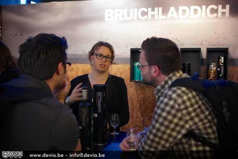 Joanne Brown, Brand ambassadeur van Bruichladdich (Whisky Festival Gent)