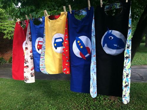 Theme capes