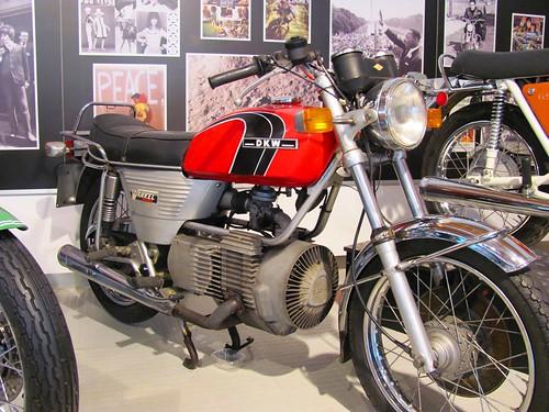 Pyrenees, Motorcycle Museum Oliana Spain, DKW Wankel