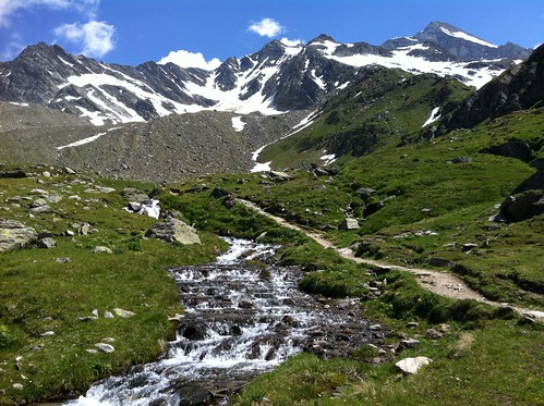 Aufstieg Lenkjöchlhütte über das Windtal