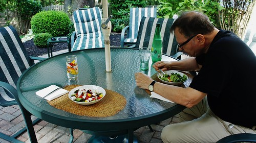 At Home:  Lunch al Fresco