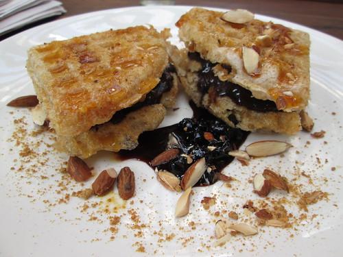 brown rice mochi waffles