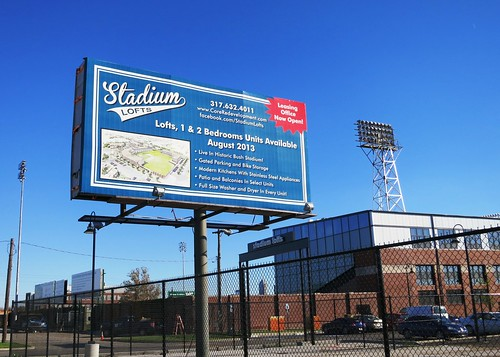Stadium Lofts Billboard Marketing Sign by Redirections Sign & Design