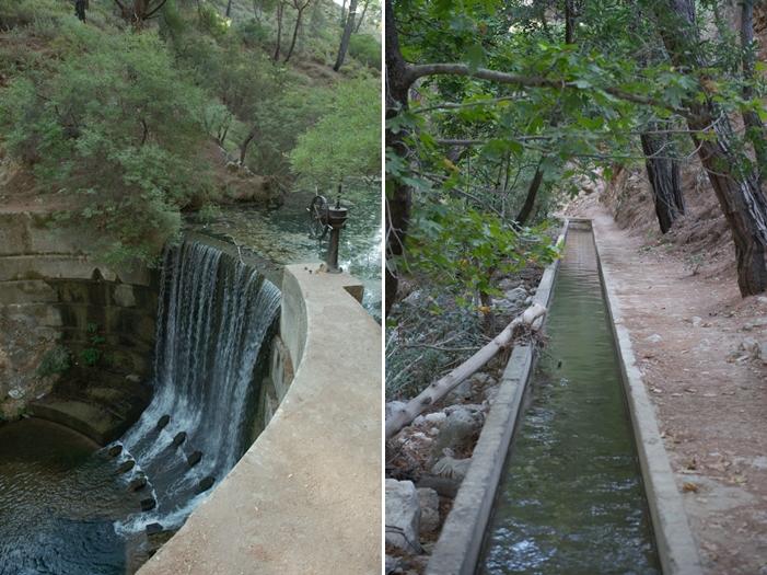 Rhodos_Epta Piges_08_Wasserfall