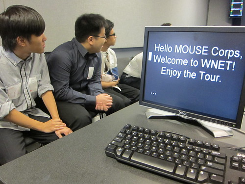 MOUSE Corps workshop at WNET