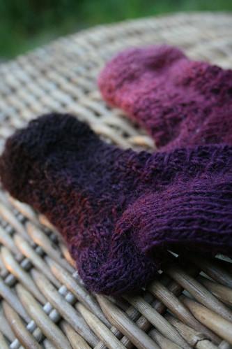 Eyelet Baby Socks