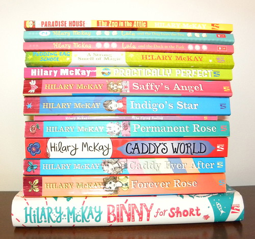 Hilary McKay books