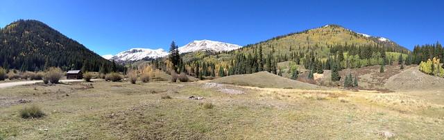 Panorama from the Redcloud Peak, Colorado Trailhead