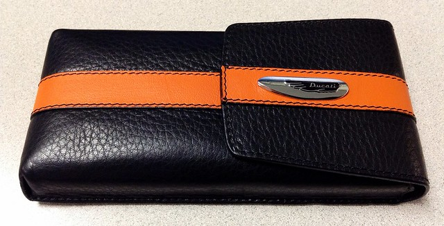 Ducati Leather Pen Case