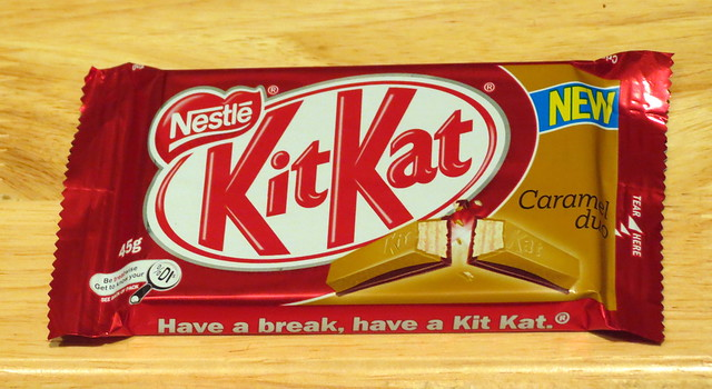 Kit Kat Caramel Duo (Australia)