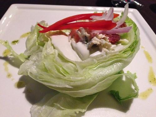 Wedge Salad at El Toro