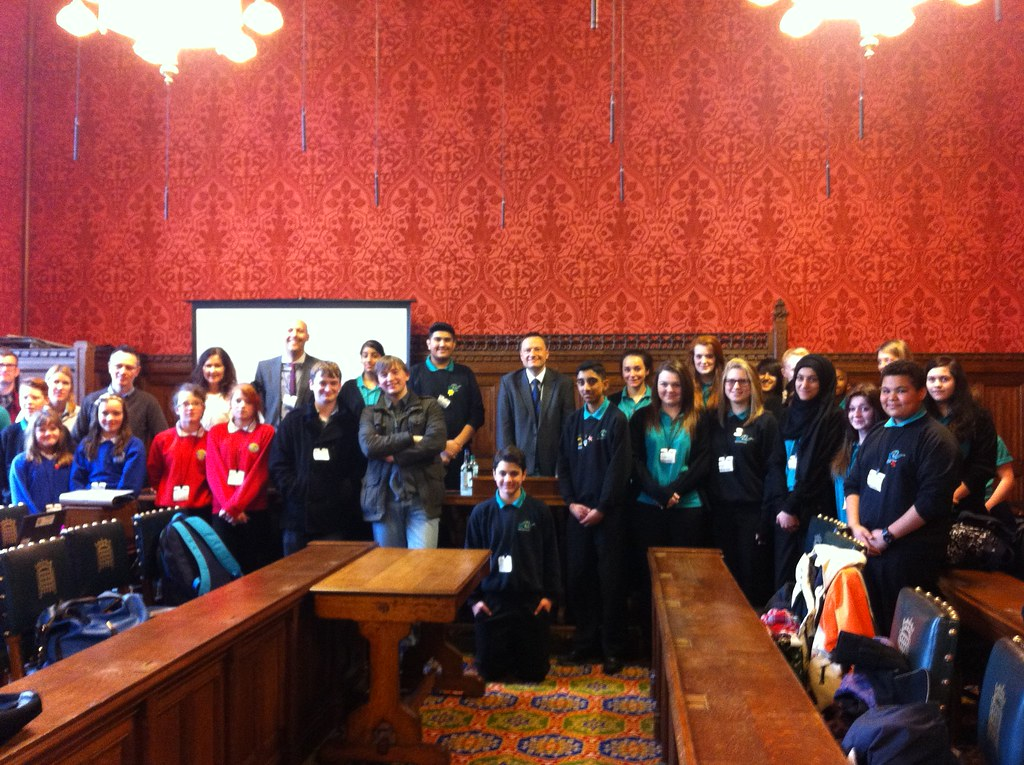 Royds Hall School and New College in Parliament