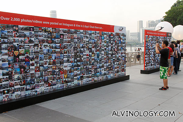 Community generated photo wall