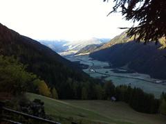 Blick von der Neuhütte ins Tal