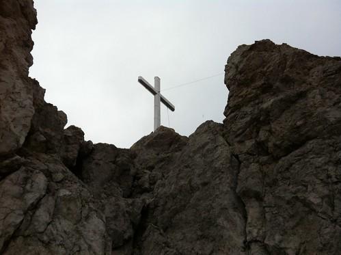Gipfelkreuz Haunold 2.966 m