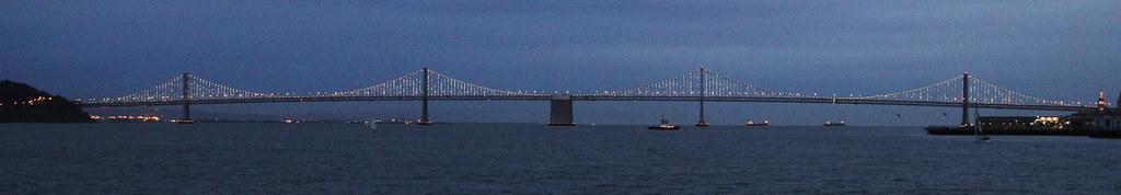 Glittering bridge