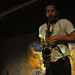 Colin Stetson @ Polish Combatants Hall - Feb. 15, 2014. Photo: Tom Beedham