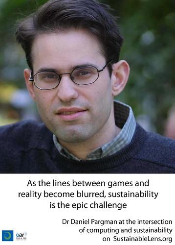 Daniel Pargman on Sustainable Lens
