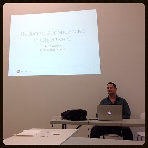 Guest Lecture by Jeff Holliday of brainscape