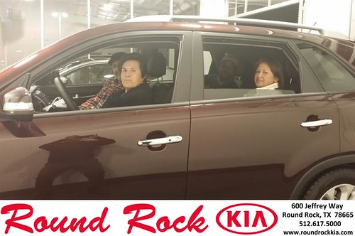 Thank you to Margarita Dominguez on your new 2014 #Kia #Sorento from Roberto Nieto and everyone at Round Rock Kia! #NewCarSmell by RoundRockKia