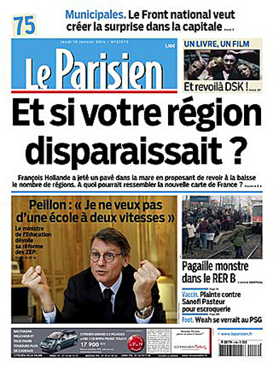 14a16 Le Parisien regiones