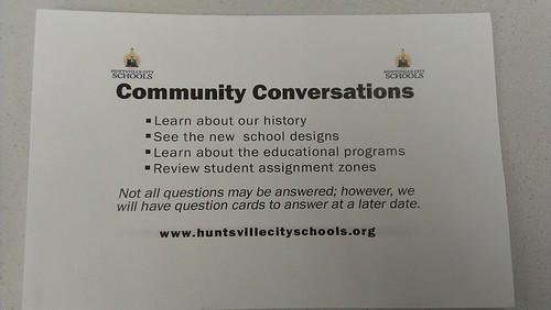 Community Conversations without Conversation