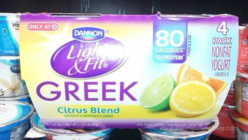 Dannon Light & Fit Greek Citrus Blend (Target Exclusive)