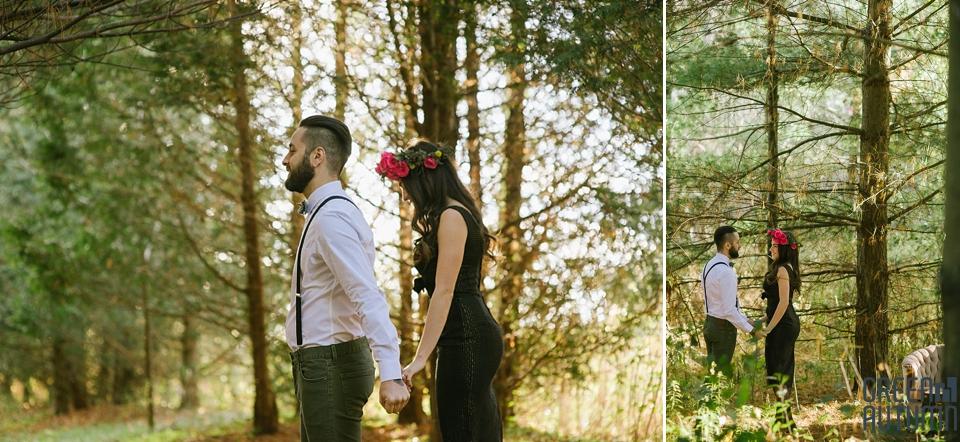 Wedding Creative Inspiration Hamilton Woodland engagement Photography 0002