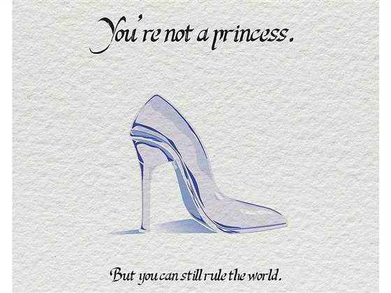 you are not a princess