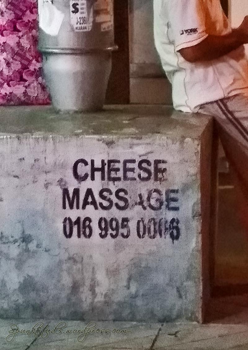 Cheese Massage