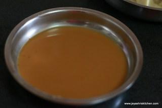 corn flour paste
