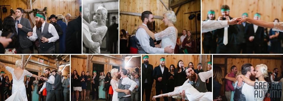 Autumn South Pond Farms Wedding Photography 0079