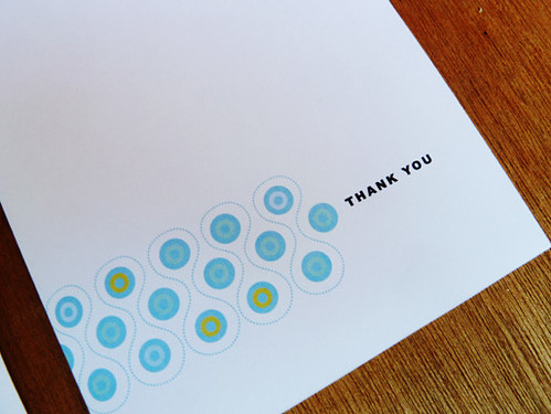 Mod Pritnable Thank You Card