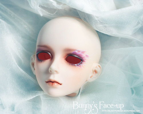 Luts_event_head_05, ball jointed doll, bjd doll, face-up, face up