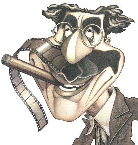 GrouchoCaricature