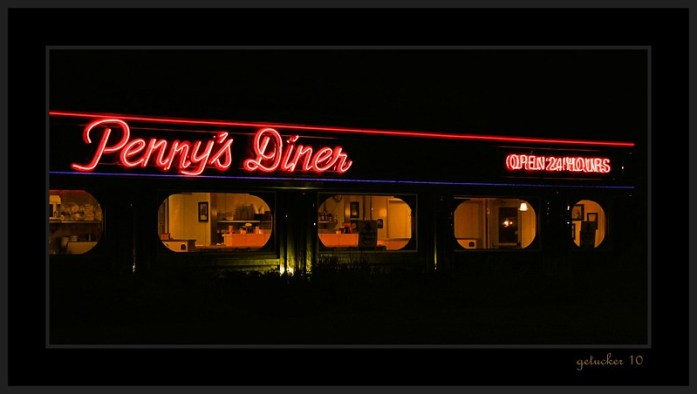 Penny's Diner - Missouri Valley, Iowa - Copyright Gary Tucker