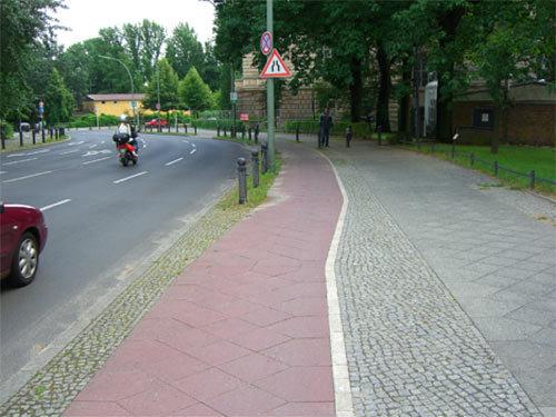 Berlin - bike path