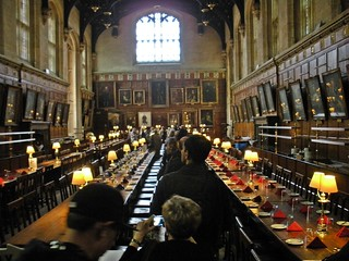 Oxford - Harry Potter room