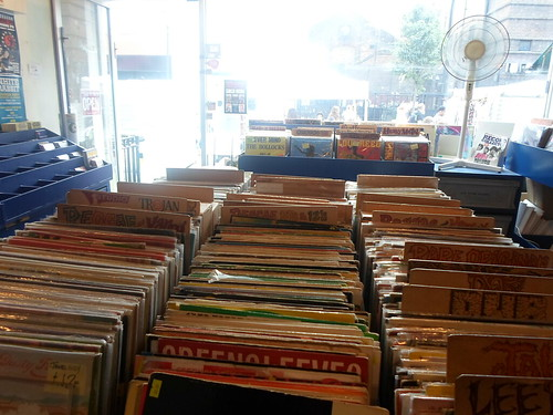 I found some cool places in Camden, including this record store