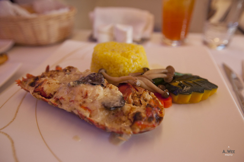 Thai Airways' Lobster Thermidor