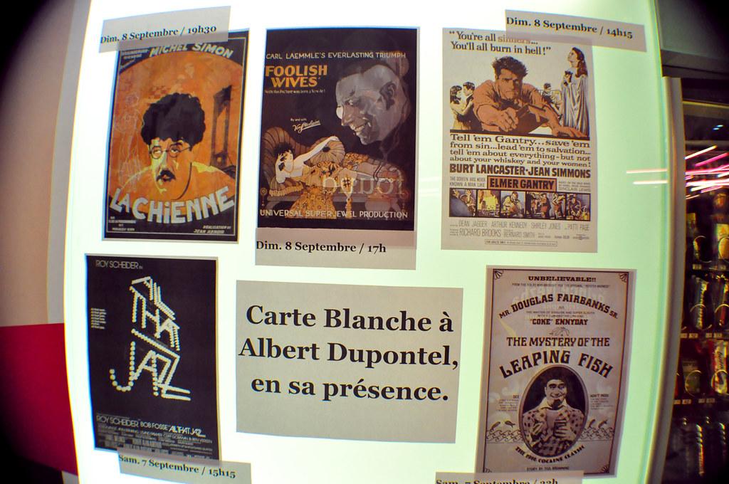 Carte Blanche Albert Dupontel