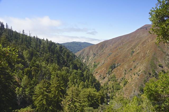 view 0003 Pine Ridge Trail, Big Sur, CA, USA