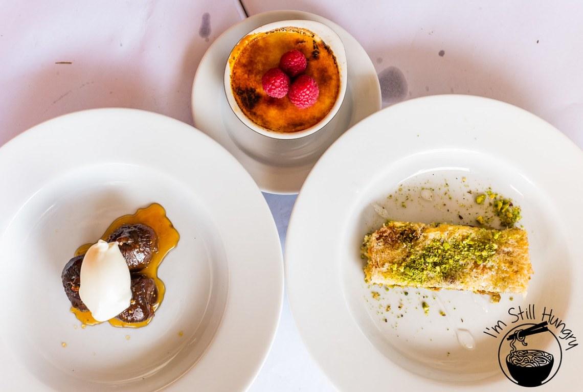 Flanagan's dining room desserts