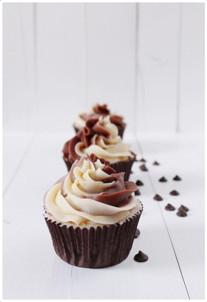 Cupcakes con chips, the art of cupcakes