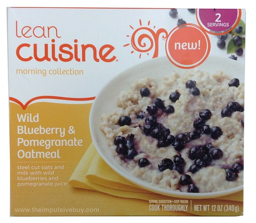 Lean Cuisine Morning Collection Wild Blueberry & Pomegranate Oatmeal