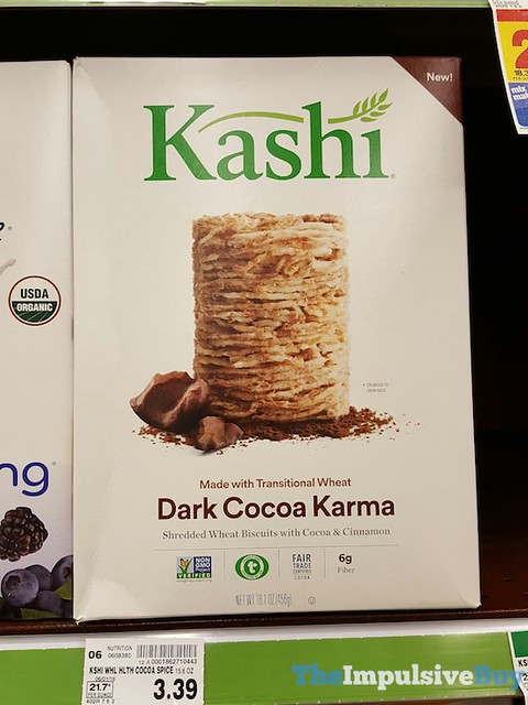 Kashi Dark Cocoa Karma Cereal