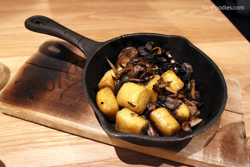 Roasted Wild and Cultivated Mushrooms Squash and Sage Gnocchi