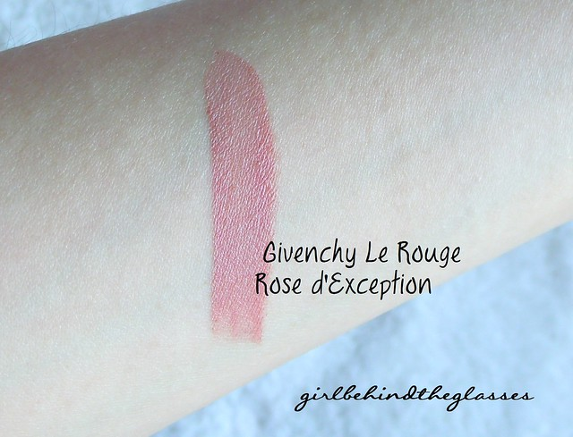 Givenchy Rose dException swatch