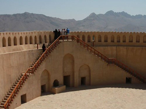 Nizwa castle views by nikki.j.thorpe