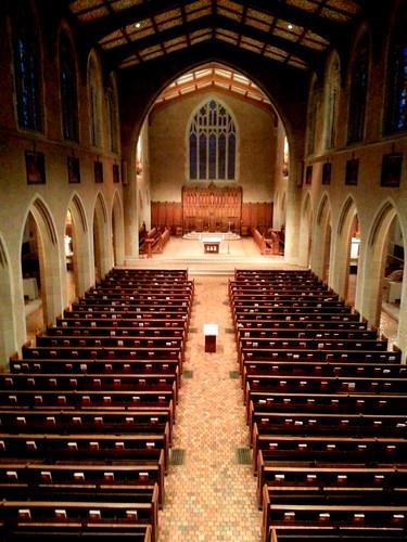SHMS Chapel from the Choir Loft